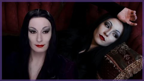 Morticia (The Addams Family) : by Jbunzie