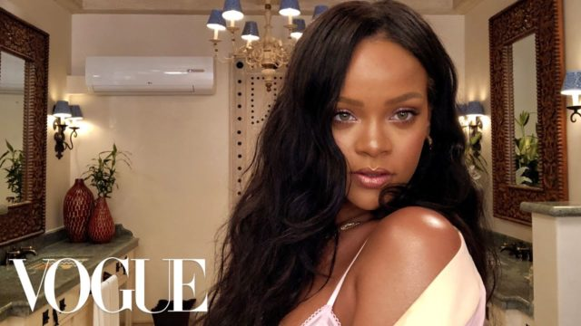 Beauty Secrets - Rihanna's Epic 10-Minute Guide to Going Out Makeup / by Vogue
