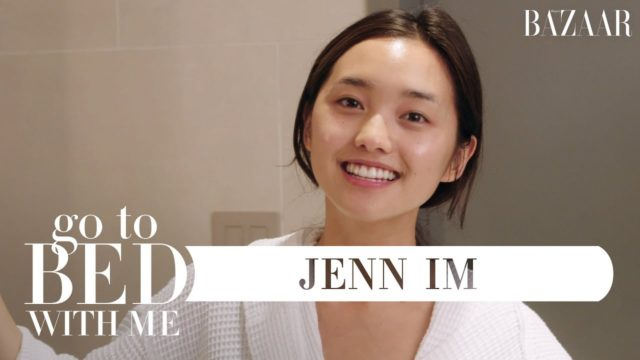 Jenn Im's Nighttime Skincare Routine (Go To Bed With Me) / by Harper's BAZAAR