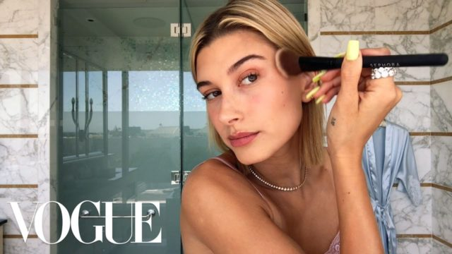 Beauty Secrets – Hailey Baldwin's 5-Step Guide to Faking a California Glow / by Vogue